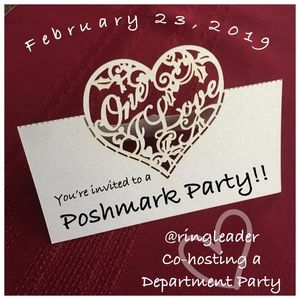 Other - Poshmark Department Party co host!